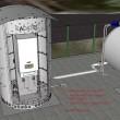 Teplovodní výparníkový blok