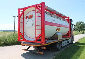 ISO Цистерновые контейнеры