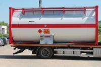 ISO cisternové kontejnery