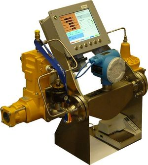 Gas flow measuring systems