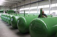 Unterirdische Flüssiggas-Tanks