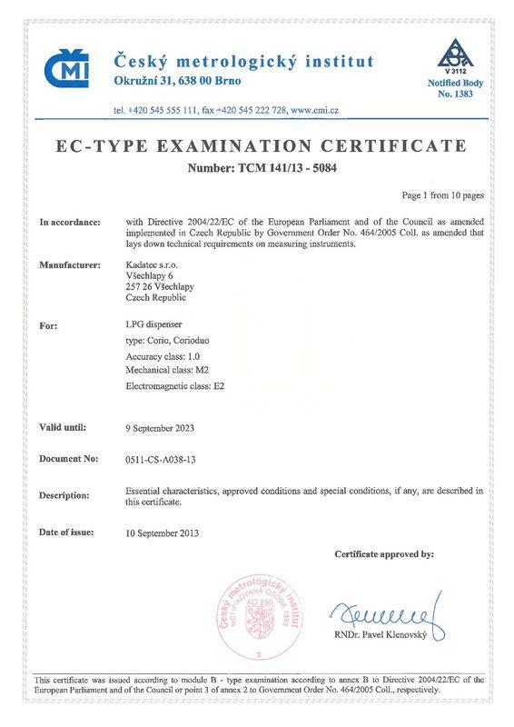 CMI EC-type Corio